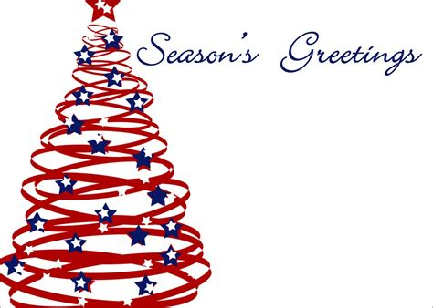 christmas clip art for email signatures patriotic tree season s greetings by cardsdirect