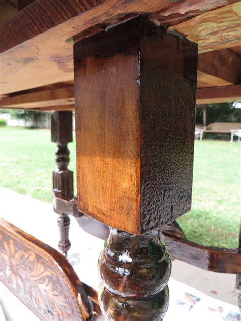 how to refinish a wood remodelaholic step by step how to refinish wood furniture