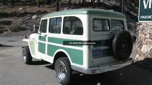 1950s Jeep 1950 Willys Jeep Station Wagon