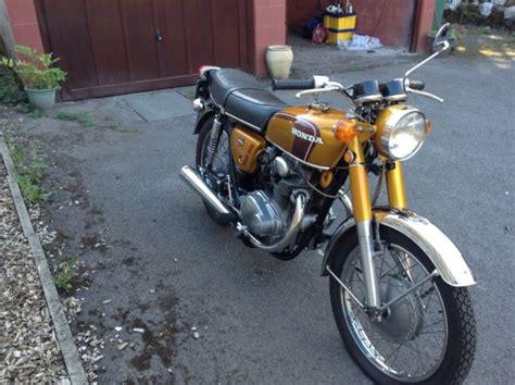 honda cb250 k4 1973 model gold vintage classic honda honda cb250 k3 k4 1971 restored classic motorcycles at