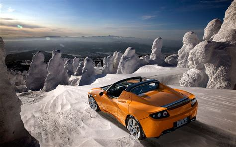 tusla car tesla roadster 2012 wallpaper hd car wallpapers