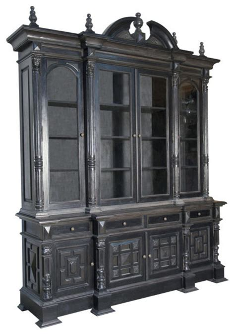 Colonial Hutch colonial hutch contemporary china cabinets and hutches