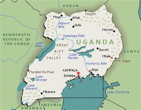 uganda on world map uganda timezone map