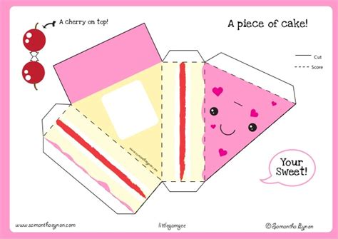 Paper Craft Minieco A Craft by Cake Papercraft