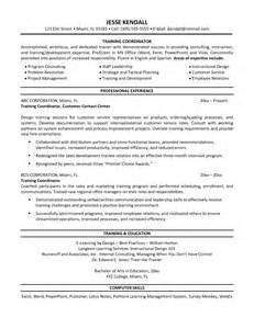 Coordinator Sle Resume by Wedding And Events Coordinator Resume Sales