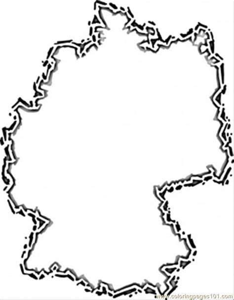 Printable Map Of Germany Coloring Home Germany Coloring Page