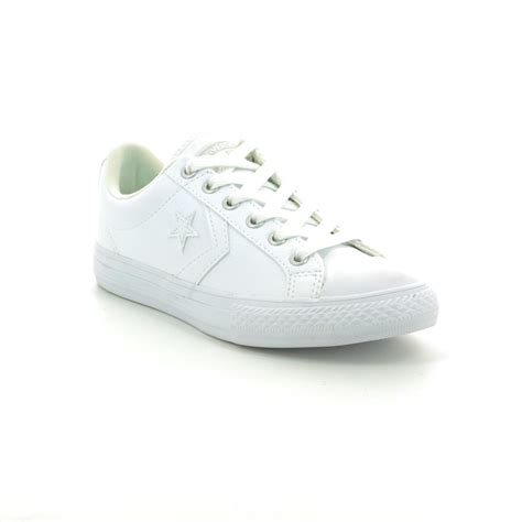 Harga Converse Player Ev Ox converse 651827c 100 player ev ox white shoes