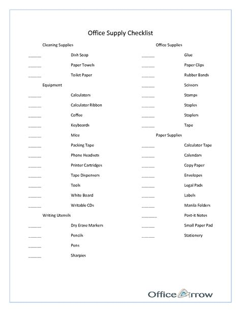 best photos of basic office supply template office