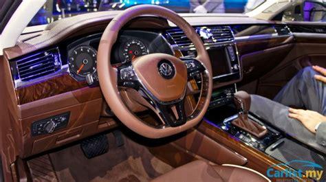 volkswagen phideon interior beijing 2016 volkswagen phideon exclusively