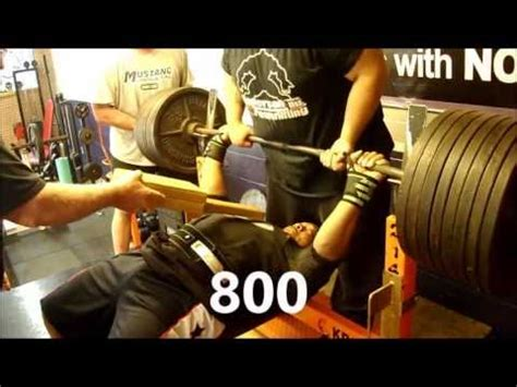 single ply bench press john stewart 275 single ply powerlifting bench press