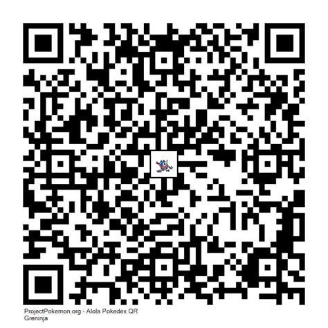 Similiar Shiny Greninja Qr Code Keywords