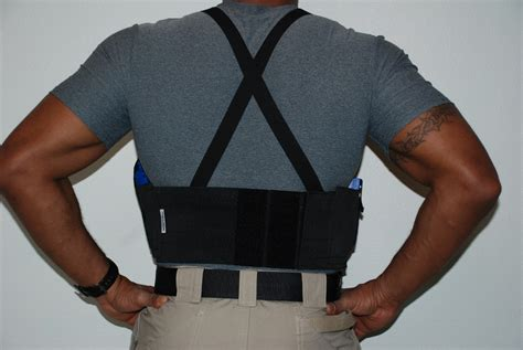 belly band truss 174 holster belly band tactical retention undercover suspension system