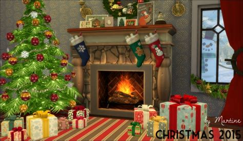 sims 3 christmas decor cc 2015 set at martine s simblr 187 sims 4 updates