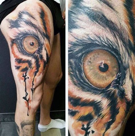 tiger eyes tattoo 40 tiger designs for realistic animal