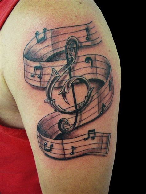 music symbol tattoo tattoos designs ideas and meaning tattoos for you