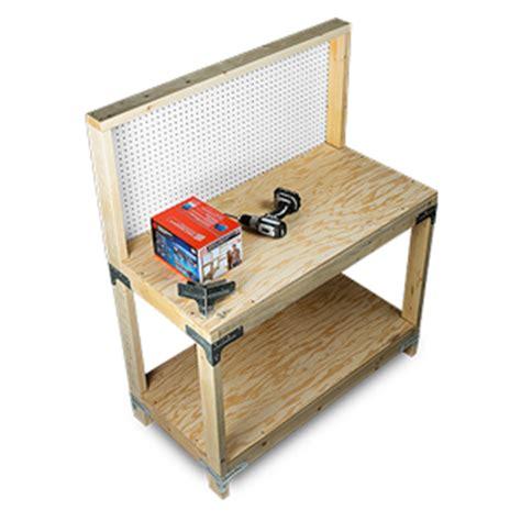 wbsk workbench  shelving hardware kit diy