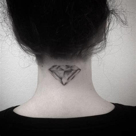 tattoo diamond on neck 21 expertly executed diamond tattoos tattooblend