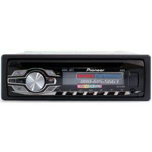 new pioneer car stereo pioneer deh 3400ub single din in dash cd mp3 wma car