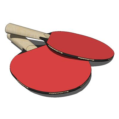 Table Tennis Paddles by Table Tennis Paddle 3d Model Formfonts 3d Models Textures