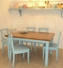 mesa cocina comedor    pino pintada ideas