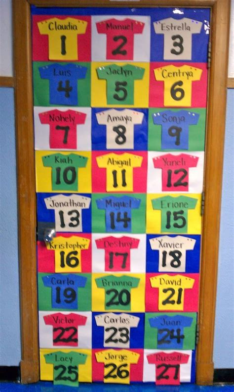 sports themed door decorations what a idea for the sports theme classroom door or