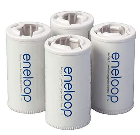 eneloop c d size adapter per 2pcs panasonic bq bs2e4sa eneloop c size battery adapters for