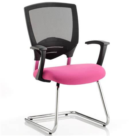 pink upholstered desk chair alpha task leather visitor upholstered pink office chair