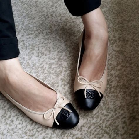 Channel Flat 25 best ideas about chanel shoes on chanel