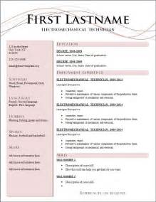 Current Resume Format Current Format Of Resume Intended For Latest Resume Format