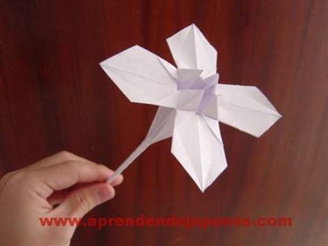 Flor Origami - origami flower flor 2
