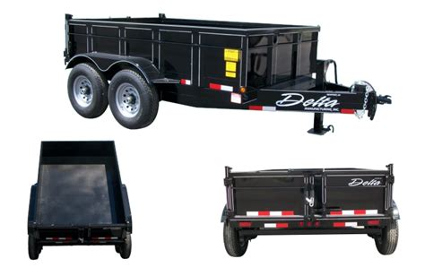dump bed trailers from delta