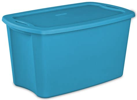 18 gallon storage containers new sterilite 18301008 lidded 18 gallon storage box tote