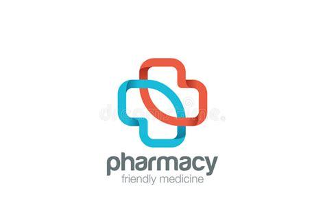 free logo design pharmacy pharmacy logo eco green cross design vector template