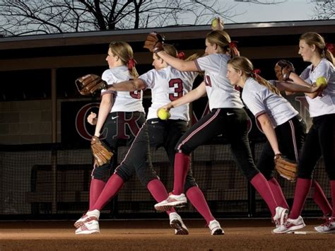 pichr of hair stlys step by step pitcher rachel brown of harvard s softball team is a