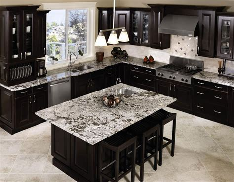 pictures of kitchens with dark cabinets black kitchen cabinets with any type of decor homefurniture org