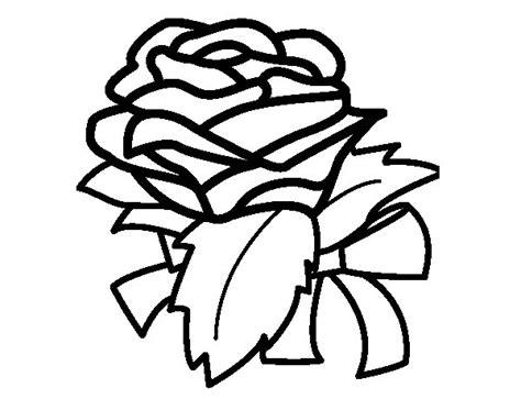 imagenes de rosas sin pintar dibujo de rosa flor para colorear dibujos net