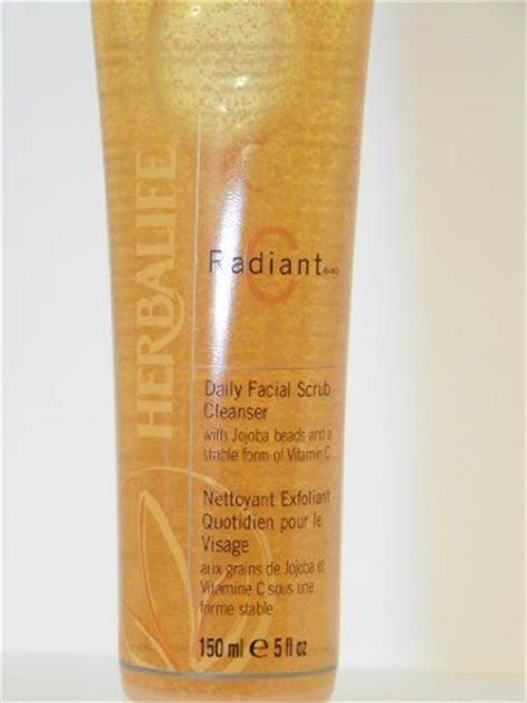 Scrub Herbalife herbalife radiant c daily scrub cleanser this delightful citrus scented gel contains