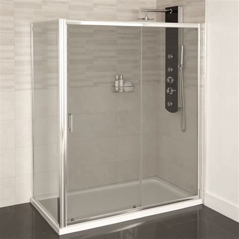 1200 Sliding Shower Door Aqualine 4mm 1200 X 700 Sliding Door Shower Enclosure