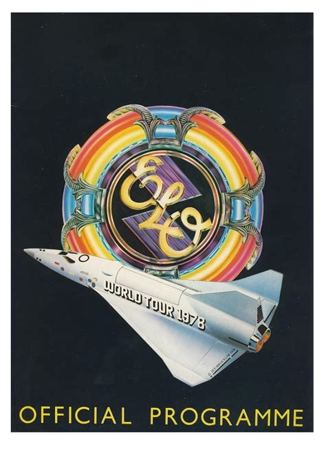 electric light orchestra tour electric light orchestra tour programme 1978 uk