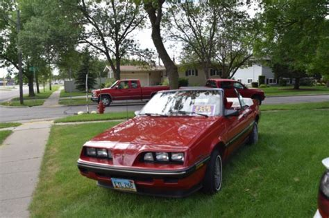 best car repair manuals 1986 pontiac sunbird interior lighting 1986 pontiac sunbird convertable for sale photos technical specifications description