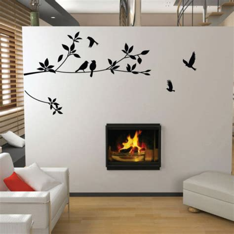 wall stickers wholesale wholesale tree and birds wall sticker diy room decoration vinyl wall stickers wall decal in