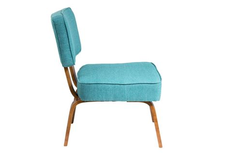 Mid Century Modern Accent Chairs by Nunzio Mid Century Modern Accent Chair In Teal By Lumisource