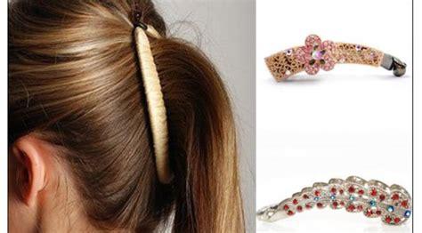 Mini Kunciran Rambut nostalgia dengan 14 aksesoris rambut yang pernah tren di