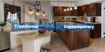 Traditional Style Kitchen Cabinets Traditional Kitchens Vs Contemporary Kitchens Which Is