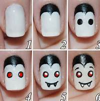 20 Easy Step By Scary Halloween Nail Art Tutorials For Beginners