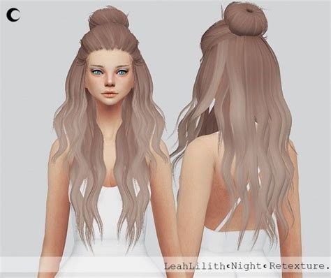 cc hair for sism4 254 best sims 4 images on pinterest sims cc outfit and