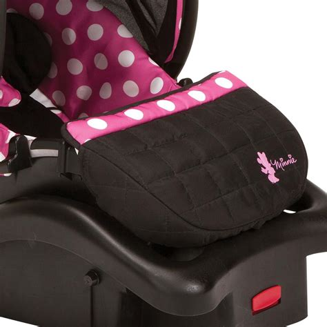 minnie mouse booster seat disney baby minnie mouse light n comfy luxe