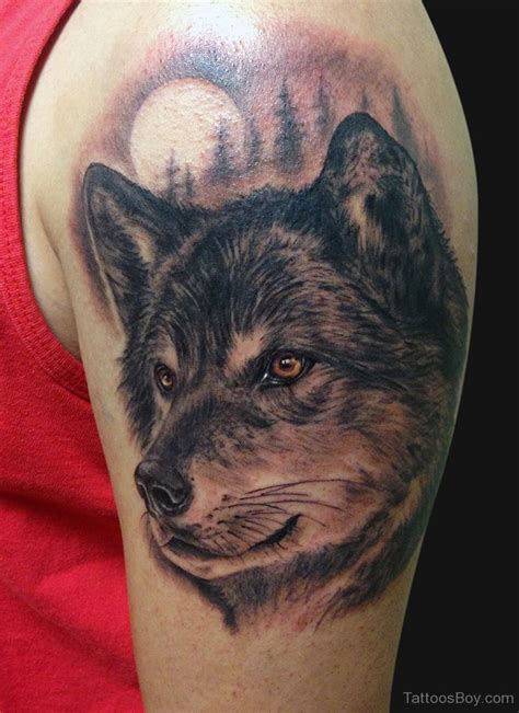 wolf design tattoo wolf tattoos designs pictures page 4
