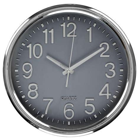 horloge silencieuse design horloge murale silencieuse design cadran gris ebay