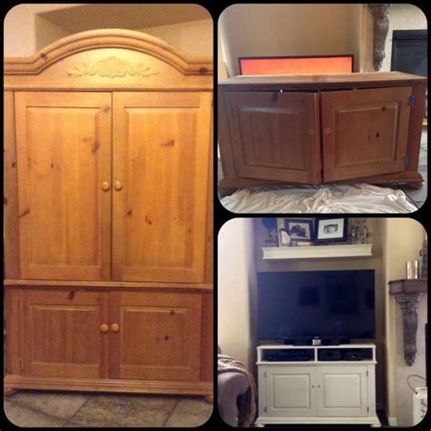 chalk paint entertainment center pin by trish gray on projects